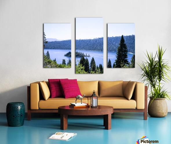 Secret View Canvas print