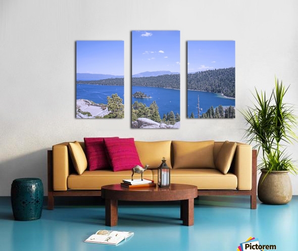 Out West 3 of 8 Canvas print