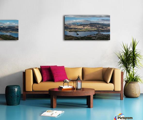 Osoyoos Panorama Canvas print