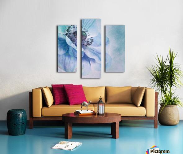 Shades of Blue by Priska Wettstein  Canvas print