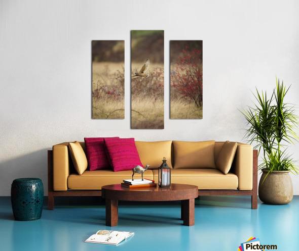 Wesley Allen Shaw 02085 Canvas print