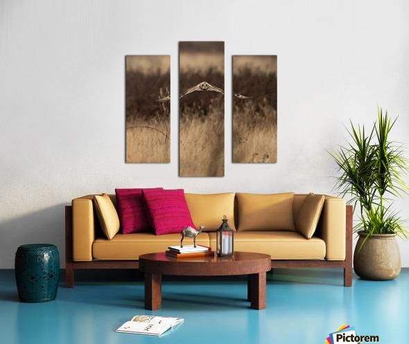 Wesley Allen Shaw 02245 Canvas print