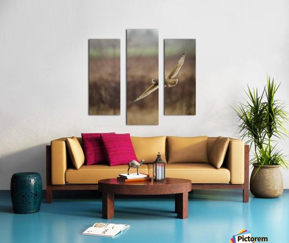 Wesley Allen Shaw 02128 Canvas print
