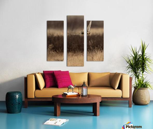 Wesley Allen Shaw 02250 Canvas print