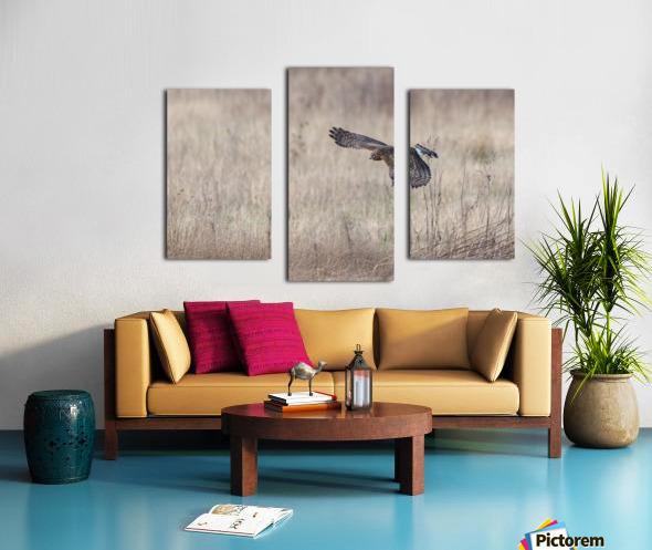 Wesley Allen Shaw 09335 Canvas print