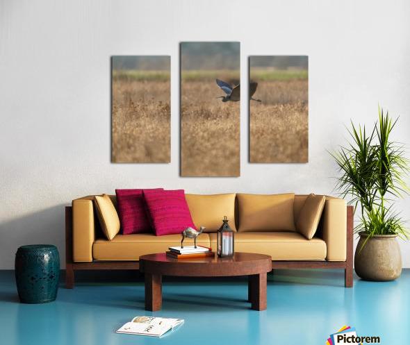 Wesley Allen Shaw 03939 Canvas print