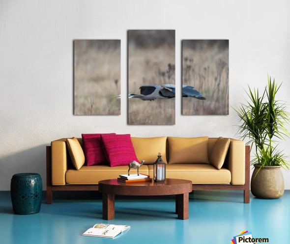 Wesley Allen Shaw 09384 Canvas print
