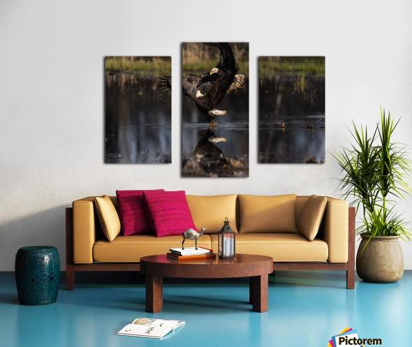 Wesley Allen Shaw 09085 Canvas print