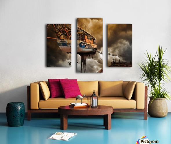 Nimfa Canvas print