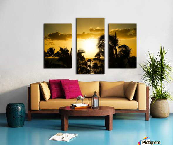 Radiant Hawaii Canvas print