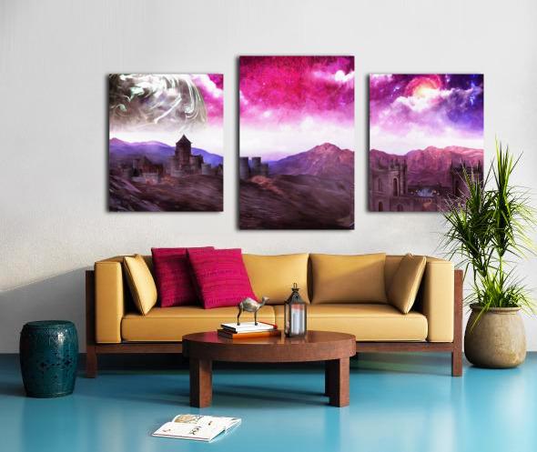 Serenity Vale Canvas print