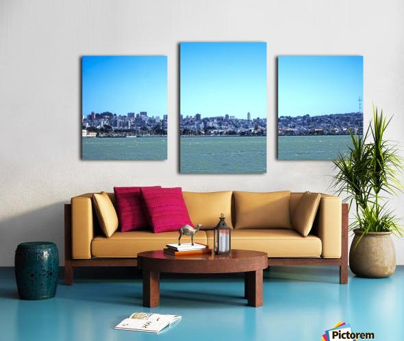 Safe Harbor San Francisco Canvas print