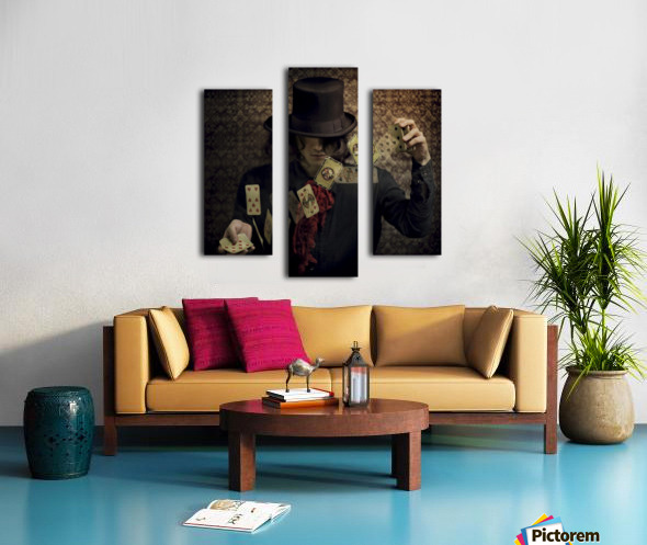 Try your fortune Canvas print