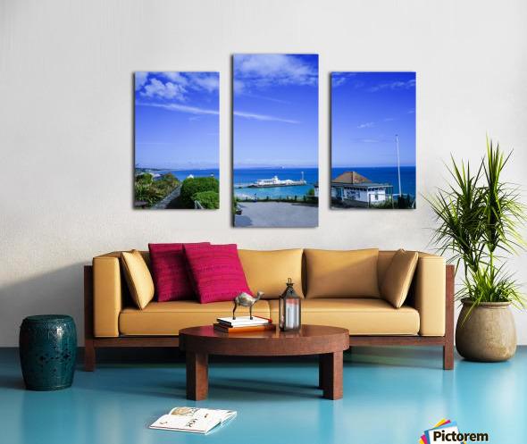 English Seaside Bournemouth Canvas print