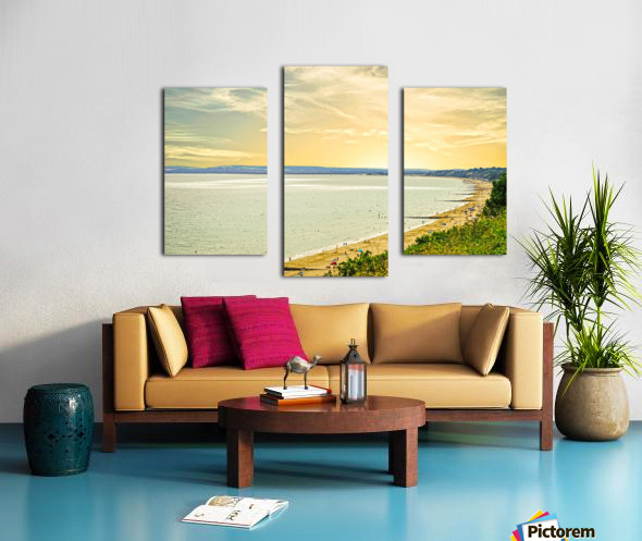 Coastal England Canvas print