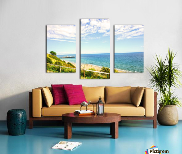 The Southern Coast of England Canvas print