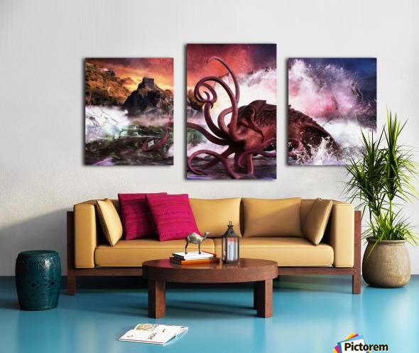 Kraken Bay Canvas print