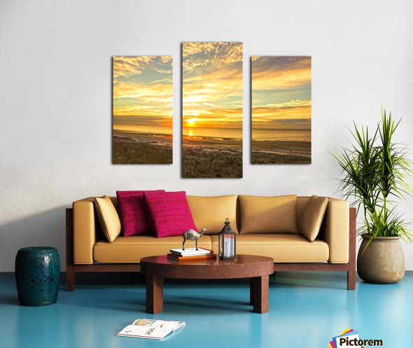 Sunrise in the Carolinas Canvas print