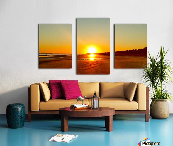 Sunset at the Atlantic Shore Canvas print