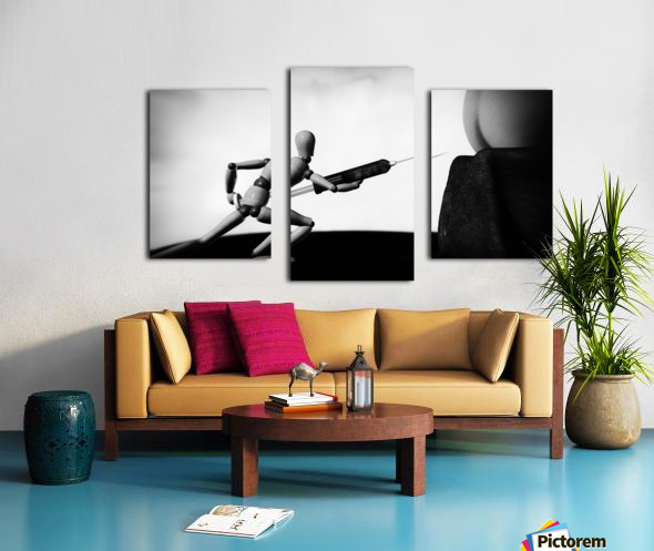 Lethal Injection Canvas print