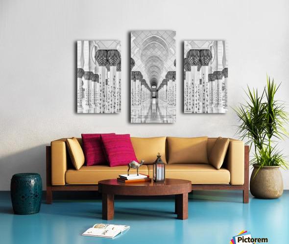 Kind of Symmetry Canvas print