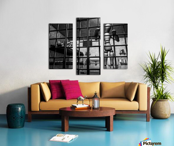 Cell Mates Canvas print