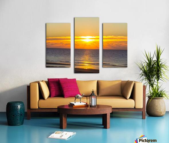 Blue Morning Sunrise Canvas print