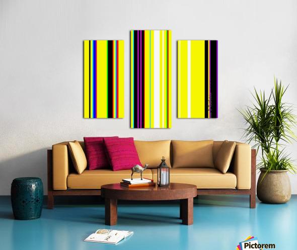Color Bars 2 Canvas print