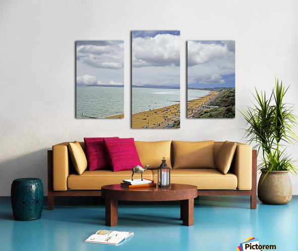 At the Beach in Southern England Canvas print