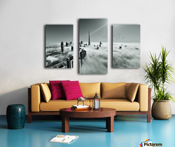 Up up and Above Canvas print