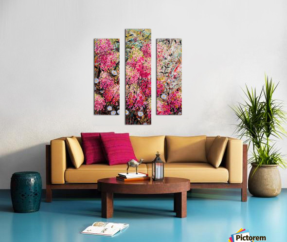 Strawberry Sundae Panel 1 Canvas print