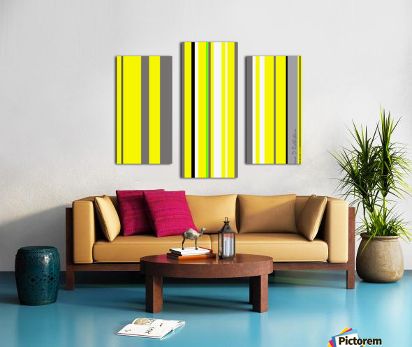 Color Bars 3 Canvas print