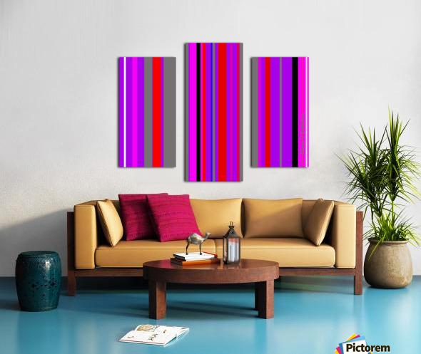 Color Bars 4 Canvas print