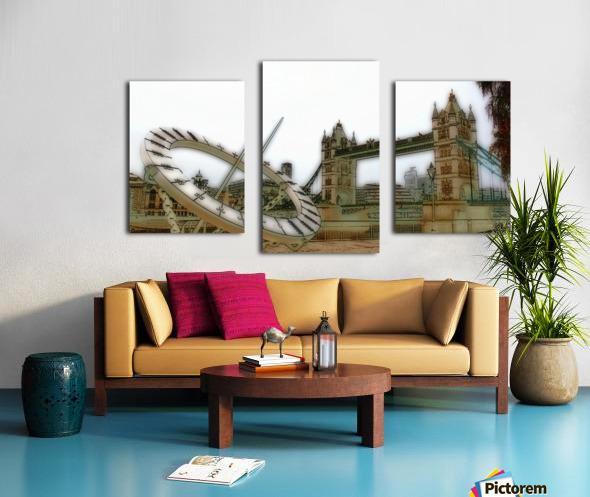 London fine art  - Tower bridge Impression sur toile