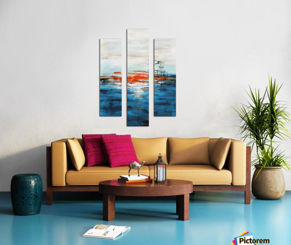 High tide IV Canvas print