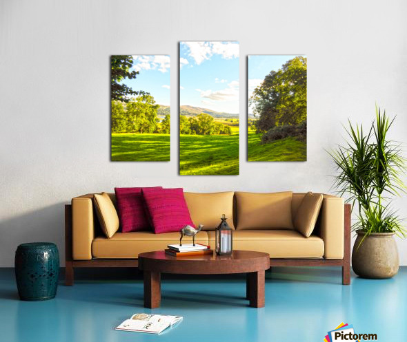 Wales in Spring Canvas print