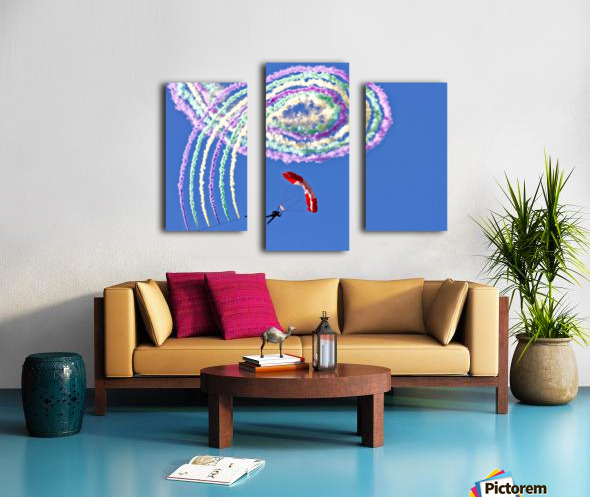 Spiro Canvas print