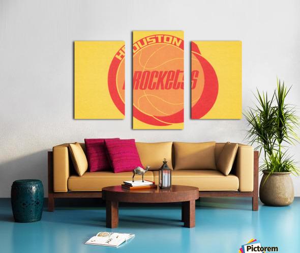 1972 Houston Rockets Art Canvas print