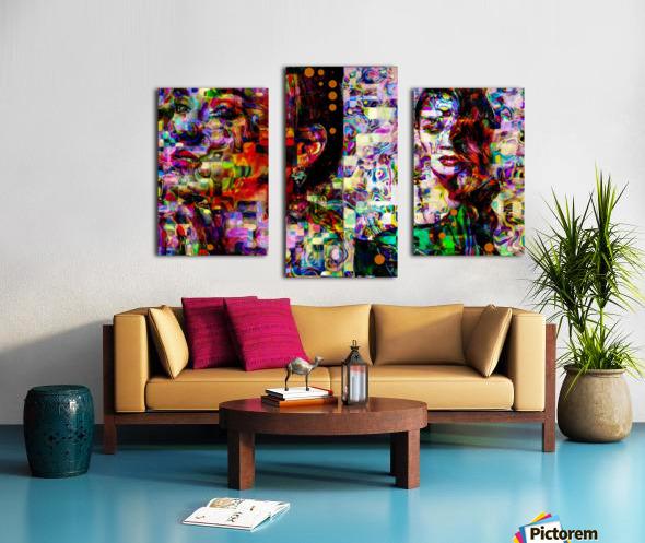 Liz fashion  Canvas print