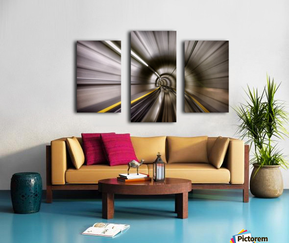 In Canvas print