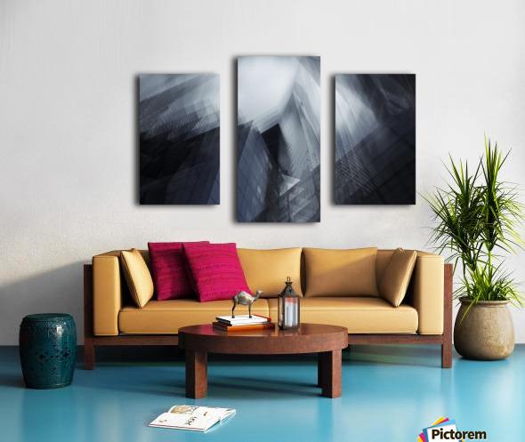 Parallel by Sebastien DEL GROSSO Canvas print