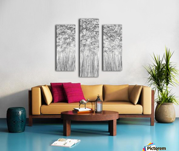 Parallelism Canvas print