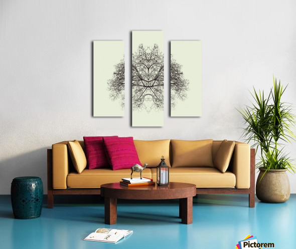 Rorschach Test by Nadav Jonas  Canvas print
