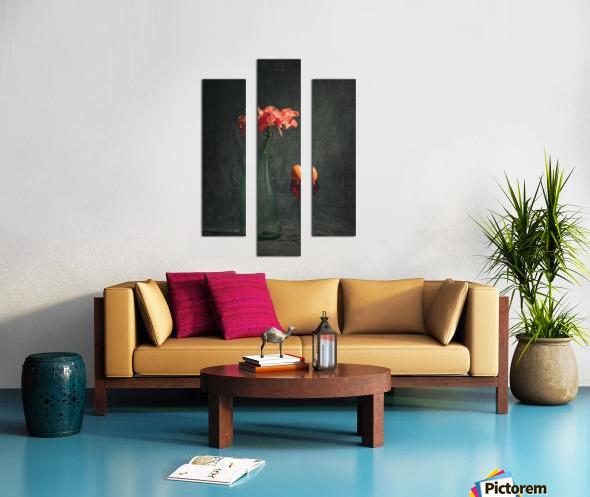 Etude Zen 3k Canvas print