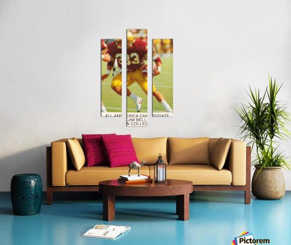 1988 Boston College Football Poster Canvas print