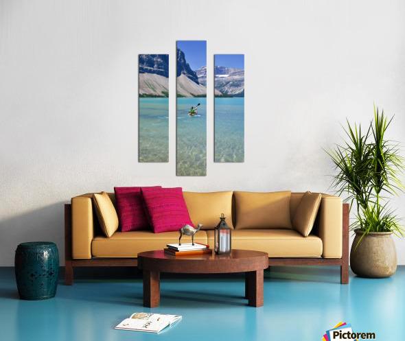 Kayaking Canvas print