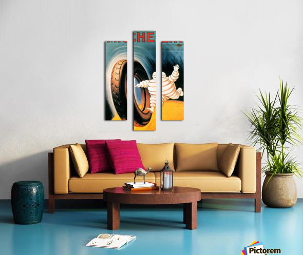 Michelin Poster Canvas print