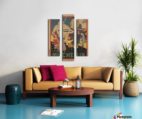 Michelin Pneu Canvas print