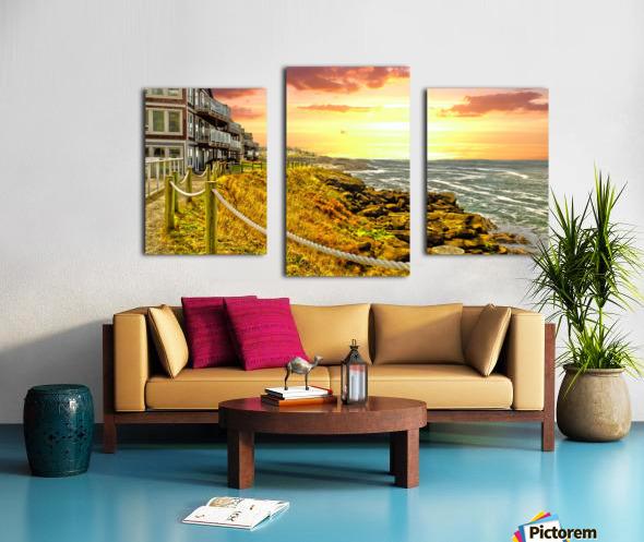 Depoe Bay On the Oregon Coast Canvas print