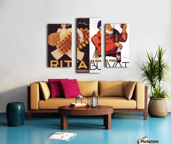 Rita Buvat Canvas print